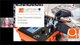 On-Demand Webinar: LightLab 3 Law Enforcement (LE) Cannabis Analyzer