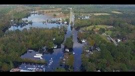 DJI   NCDOT - After Hurricane Florence