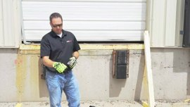 Super Vac's chainsaw kit vs. an ordinary unmodified chainsaw