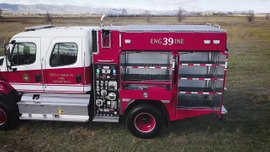 Santa Fe Type III Wildland Pumper Walk-Around