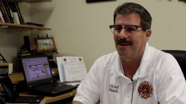 Emergency Vehicle Traffic Signal Preemption GPS - Fire Chief Dan Sink, Goshen Indiana