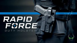 The Rapid Force Duty Holster by Alien Gear Holsters