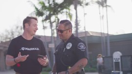 Officer Frank Garza at Placentia PD