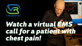 EMS Student VR Online Training- Chest Pain