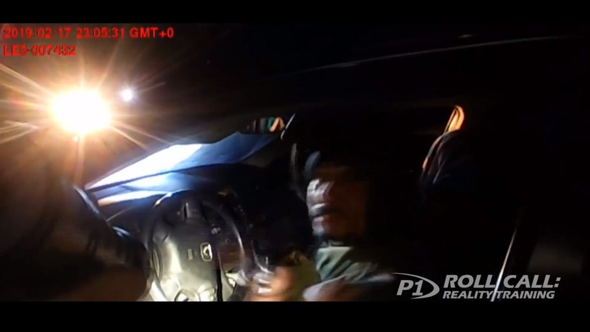 Reality Training: An officer's close call during a traffic stop