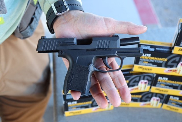 Yes, I shot the P365.