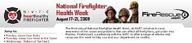 NVFC's National Firefighter Health Week 2009