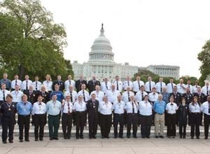 Photo courtesy of AAAThe 2010 'Stars of Life' gather in Washington, DC, earlier this month.