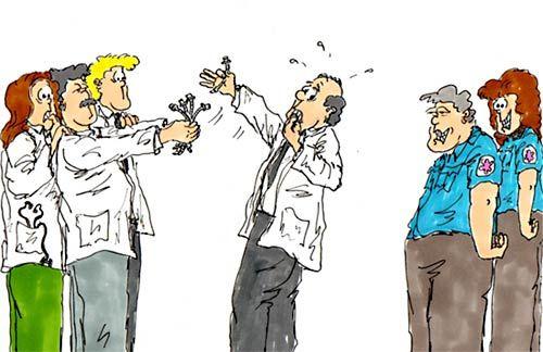 Steve Berry Cartoon