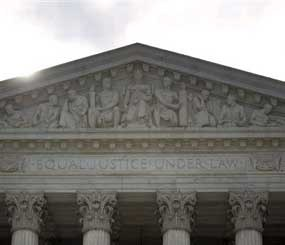 The Supreme Court in Washington, Monday, June 25, 2012.  The Supreme Court is meeting Monday to issue opinions in some of the handful of cases that remain unresolved.  (AP Image)