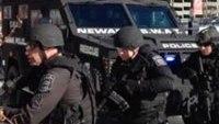 NJ SWAT train for Super Bowl