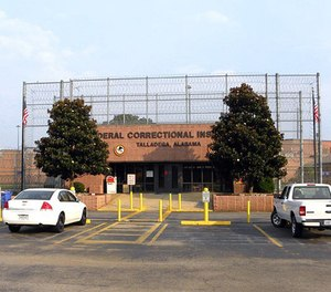 The federal prison in Talladega, Ala. was the site of a 1991 riot in which detainees held 10 federal employees hostage for more than a week. (Photo/Bureau of Prisons)