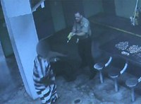 Video: Inmate withstands TASER, attacks 4 correctional officers