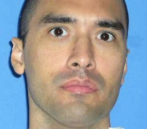 This undated file photo released by the Texas Department of Criminal Justice shows death row inmate Rolando Ruiz. Ruiz is scheduled to die Tuesday, March 7, 2017, for the murder-for-hire slaying he carried out more than 24 years ago.