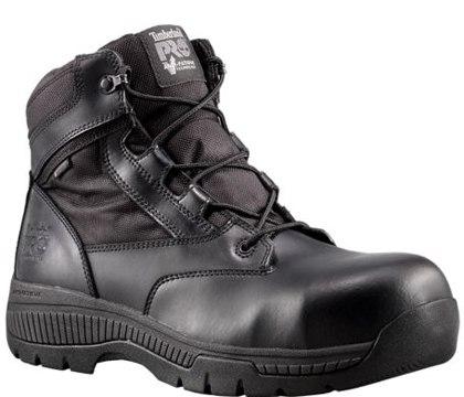 PRO Valor Unisex Composite Toe Waterproof Side-Zip Duty Boot.
