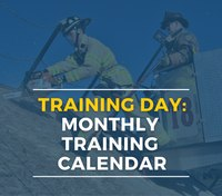Training Day: Fire Department Monthly Training Schedule