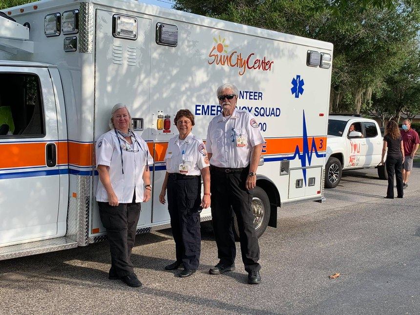 Sun City Center Emergency Squad was named the 2020 Volunteer EMS Service of the Year by the NAEMT and EMS World.