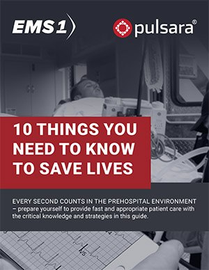 Download the free eBook to learn more about how to diagnose and treat cardiac arrest, major blood loss and acute pain, as well as how to manage patient handovers, a crucial step in the continuum of care. (image/EMS1)
