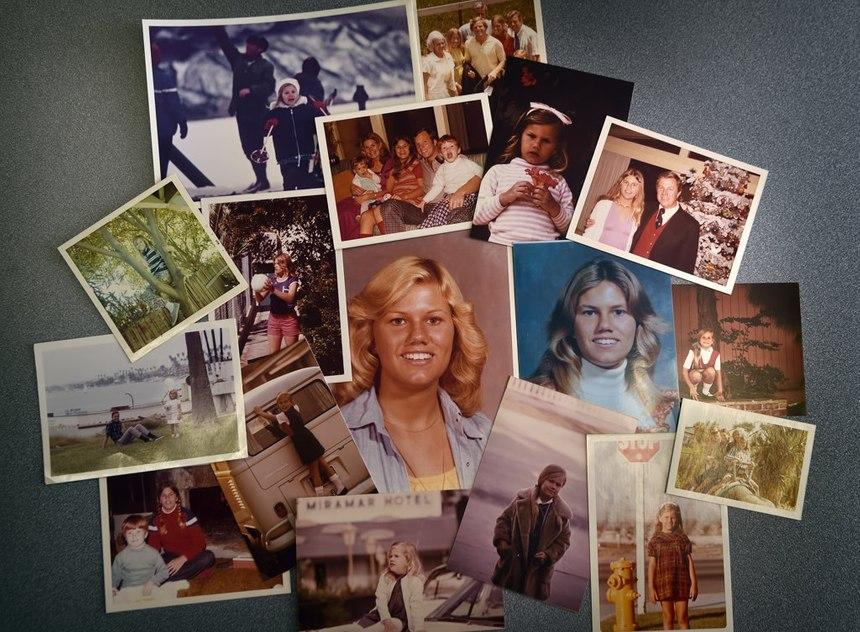 A collection of photos of Ginger Fleischli.