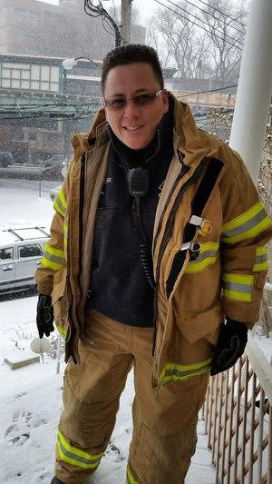 FDNY EMS Chief Lillian Bonsignore.
