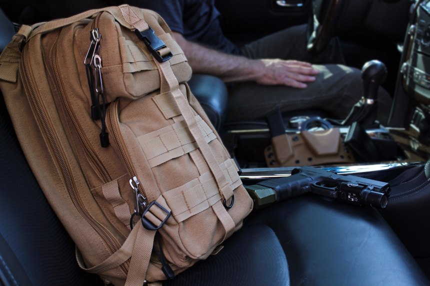 Having both a vehicle bug out bag and a home bug out bag means you will always be ready to go whatever the situation (Photo/Ron Lyons)