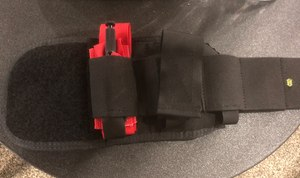 The 247 Trauma Wrap allows officers to carry a lifesaving first-aid kit on their ankle.