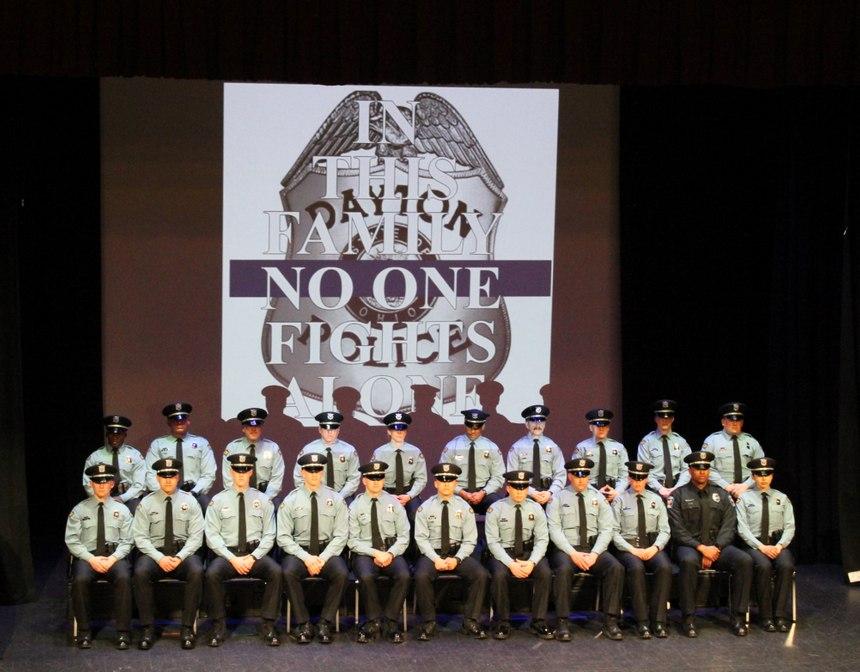 Dayton Police Academy Class 108. (Photo/Dayton Police Department)