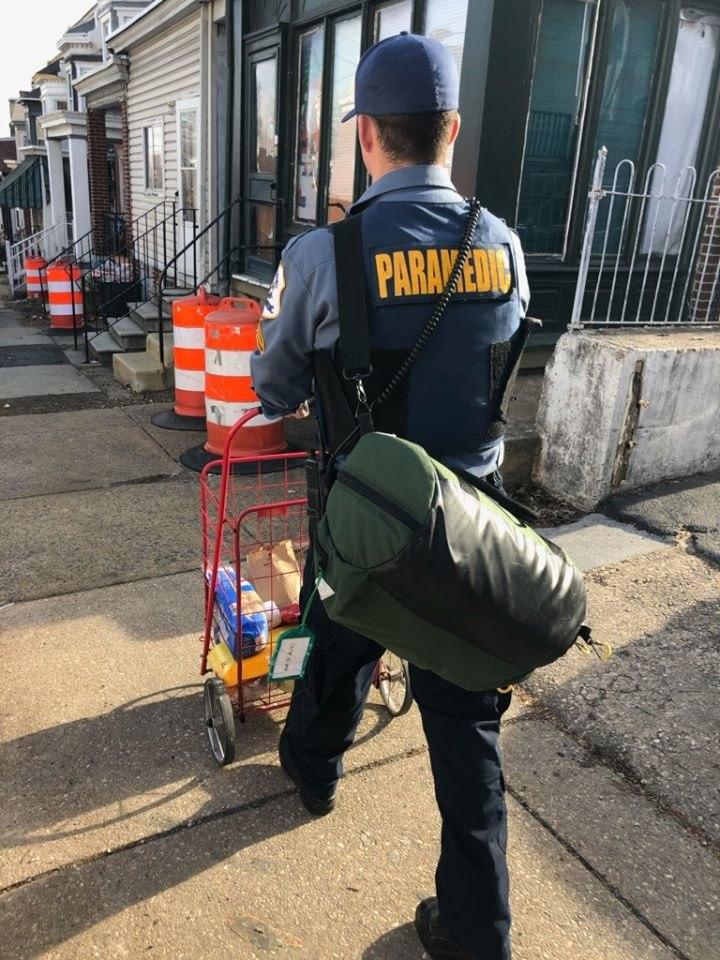(Photo/New Castle County Paramedics)