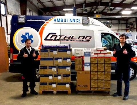 (Photo Credit/Cataldo Ambulance Service)