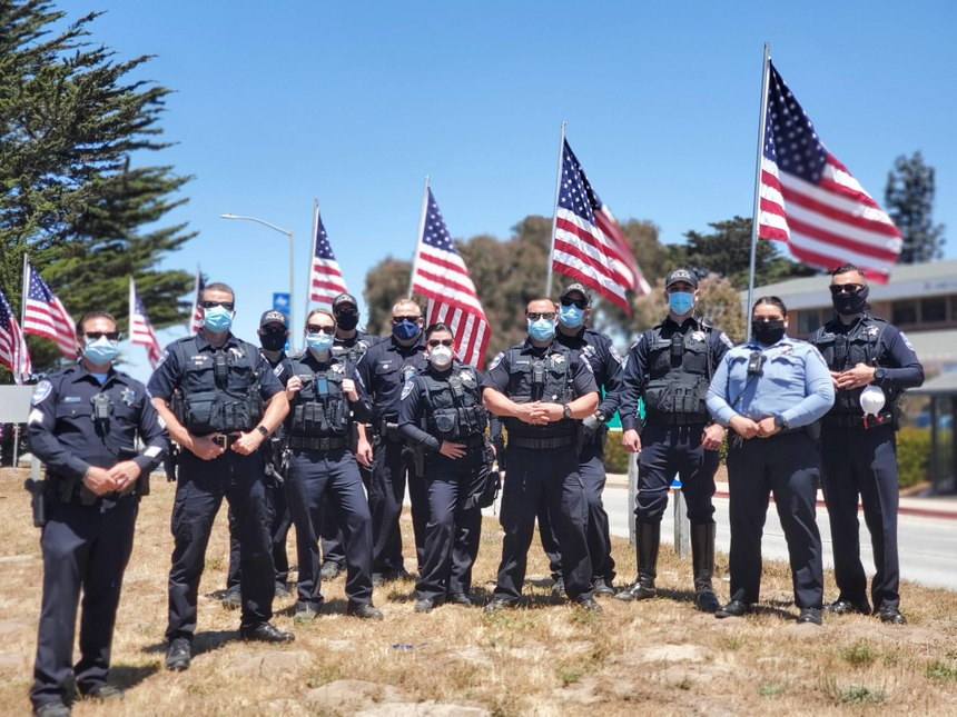 The evaluation results from the data are motivating for those continuing to lead the change process going forward. (Photo/Marina Police Department)