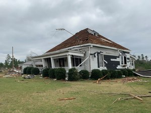 The EF-4 tornado ripped through Lee County, Alabama, killing 23 people and injuring many others. (Photo/Keith Padgett)
