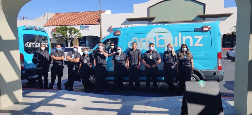 The company, whose teal-colored rigs have become a viral sensation, has a total of 1,500 employees; 1,450 of which are EMTs and paramedics. They also employ nurses, respiratory therapists and wheelchair van drivers, many of whom are W-2 employees.