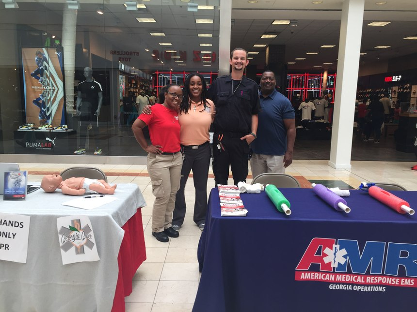 AMR Georgia CPR Training
