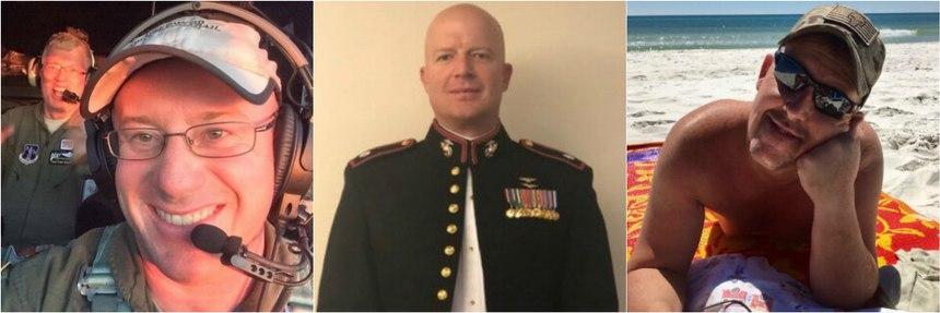 Capt. Ian H. McBeth of Montana; First Officer Paul Clyde Hudson of Arizona; and Flight Engineer Rick A. DeMorgan Jr. of Florida.