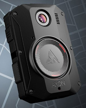 The Axon Body 3 bodycam includes a cellular data connection that enables real-time features like livestreaming to empower officers with more support in the moment. (image/Axon)