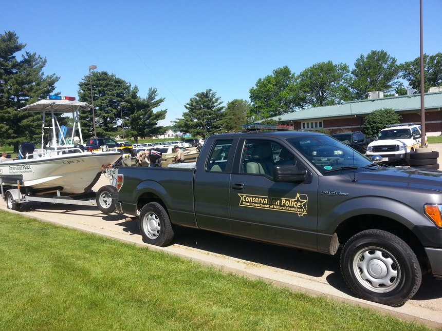 Game wardens are equipped to work both land and waterways. (Photo/Steven Beltran)