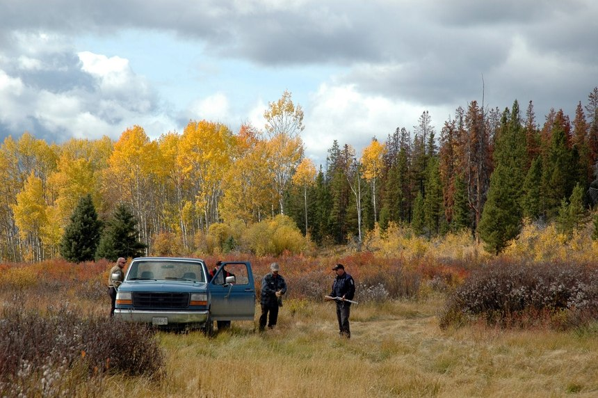 Game wardens have intimate knowledge of your unpaved patrol area. (Photo/Steven Beltran)