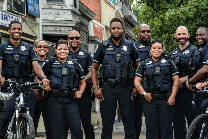 D.C. Metropolitan Police, winners of the 2019 Best Dressed Public Safety Award ®for Large Departments