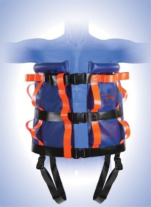 The Binder Lift nylon vest model. (image/Binder Lift)