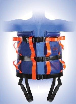 The Binder Lift nylon vest model.