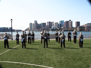 Boston EMS celebrates the graduation of Academy Class who completed a rigorous training program as well as directly supported the department's pandemic response to COVID-19.
