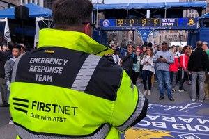 FirstNet-provided photos for Boston Marathon: Boston Marathon and Boston Strong FirstNet Talk Group.