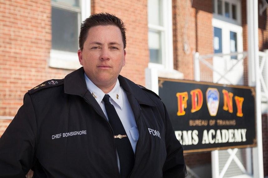 FDNY EMS Chief Lillian Bonsignore. (Photo/FDNY)