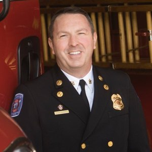 Fire Chief Nathan J. Trauernicht, chair of this year's Safety Stand Down.