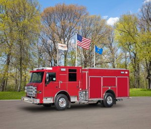 The new fire apparatus will replace aging trucks.