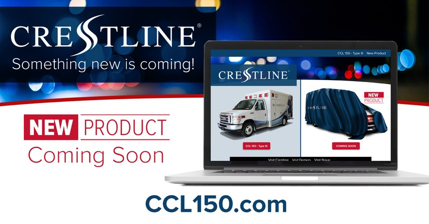 Mark your calendar for Wednesday, June 24, 2020, at 1 p.m. EDT to experience the virtual launch of the latest product from the Crestline CCL 150 product line. (Photo/Crestline Coach Ltd.)