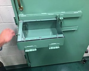 Briarwood Products provided custom cleaning tools made to the dimensions needed to use the cuff ports properly at the Ohio State Penitentiary.