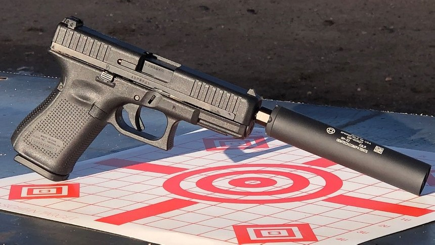The G44 paired with a Gemtech suppressor was an absolute treat to shoot. (Photo/Sean Curtis)