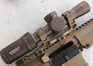 Geissele debuted a 1-6 LPVO at SHOT Show. (Photo/Sean Curtis)