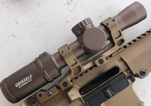 Geissele debuted a 1-6 LPVO at SHOT Show.